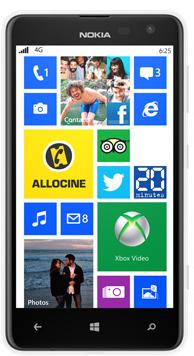 Smartphone Nokia Lumia 625 8 Go blanc (ODR 30€)