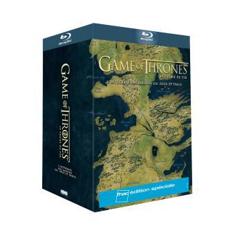[Adhérents] Coffret Blu-ray Edition Fnac Le trône de fer, Game of thrones intégral des Saisons 1 à 3 + 20€ sur le compte fidelité
