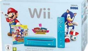 Console Wii + Jeu Mario Sonic aux JO