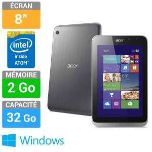 Tablette Acer Iconia W4 8'' 32Go Windows 8