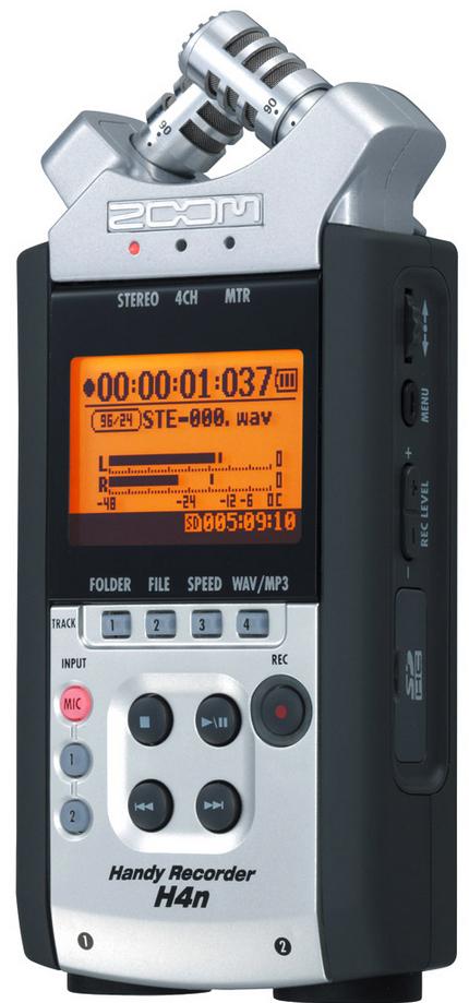 Enregistreur portable Zoom H4N (Enregistrement et reproduction simultanée de 4 pistes) / livraison gratuite