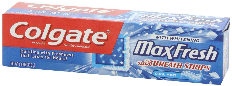 Dentifrice colgate Max Fresh microbilles 75ml offert pour l'achat d'un autre article