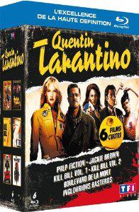 Coffret Blu-Ray Quentin Tarantino 6 films