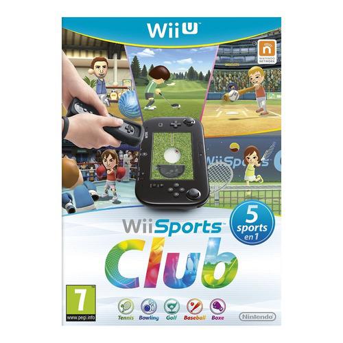 Jeu Wii Sports Club sur Nintendo Wii U