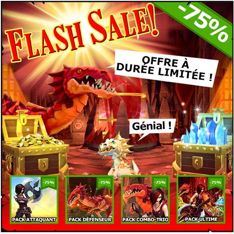 -75% sur une sélection de packs de contenu pour le jeu The Mighty Quest for Epic Loot - Ex : Pack Ultime