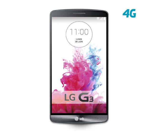 Smartphone LG G3 16Go - Titane
