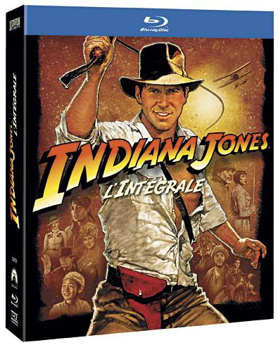 Coffret Blu-ray Indiana Jones - L'Intégrale
