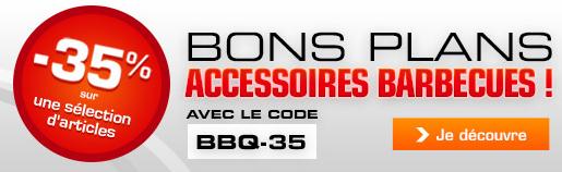 -35% sur une sélection d'accessoires barbecue (Weber...)