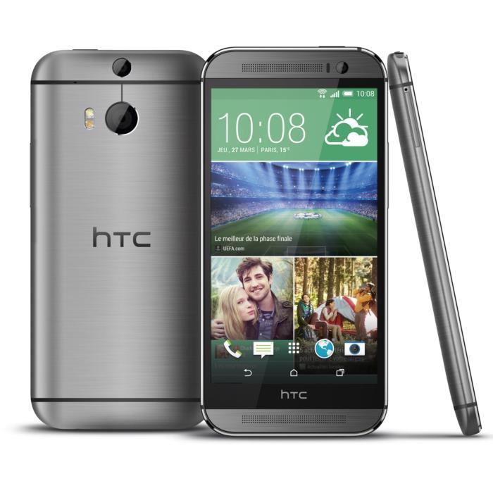 Smartphone HTC One M8 16Go Gris Acier (Avec ODR de 60€)