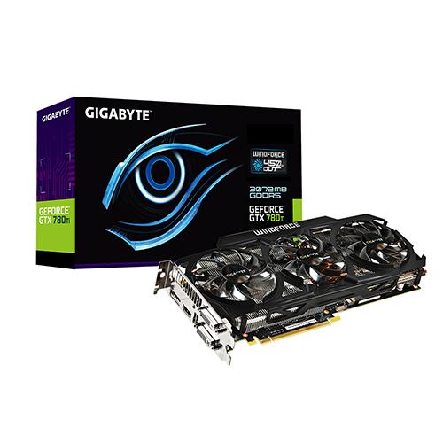 Carte Graphique Gigabyte GV-N78TWF3-3GD - GeForce GTX 780 Ti 3GB