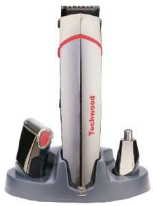 Coffret Techwood TTN-900 avec tondeuse + rasoir + épilateur du nez