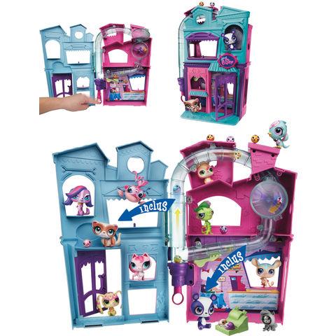 Jusqu'à -80% sur une sélection de jouets -exemple Jouet Littlest Pet Shop : La maison Petshop