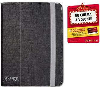 Étui Universel Port Designs Malaga pour tablettes 9 / 10'' + Carte cinéma Gaumont Pathé 2 pour 1