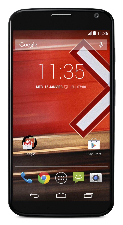 "Smartphone 4.7""  Motorola X - 4G 16 Go Android 4.4 KitKat Noir"