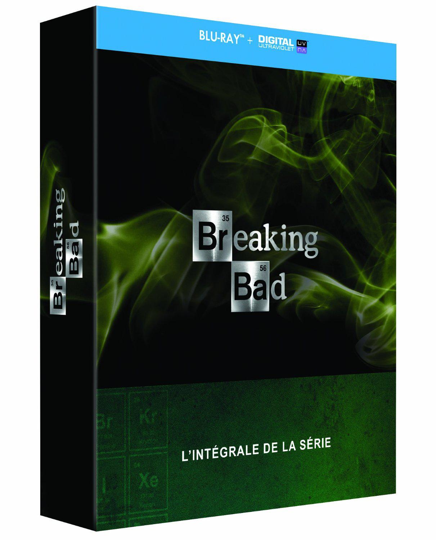 Coffret Blu-Ray : Breaking Bad - Intégrale de la série - Édition Collector