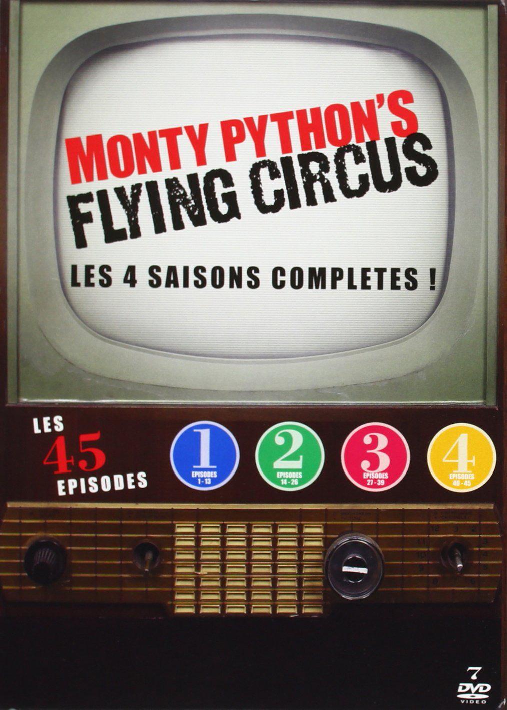 Monty Python's Flying Circus : intégrale Saisons 1 à 4 - DVD