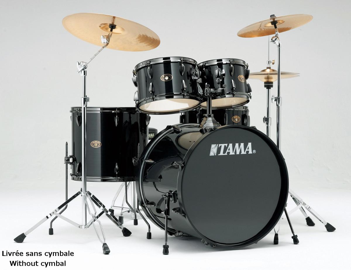 Batterie acoustique Tama Imperialstar Black nickel édition