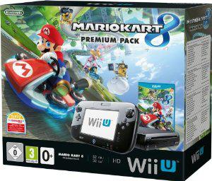 Console Nintendo Wii U 32 Go  Mario Kart 8 Pack Premium