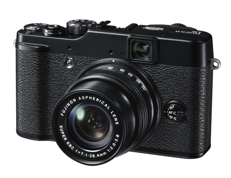 Appareil photo numérique Fujifilm FinePix X10 12 Mpix - Zoom Optique 4x - Noir
