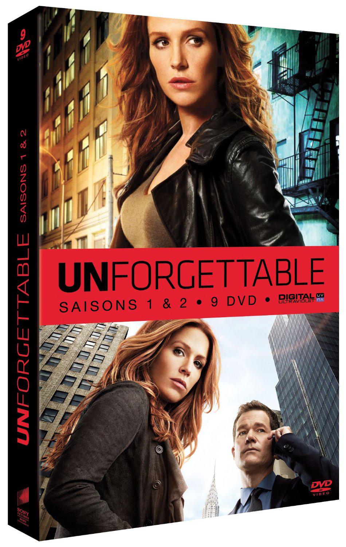 Coffret DVD Unforgettable (saison 1 et 2)