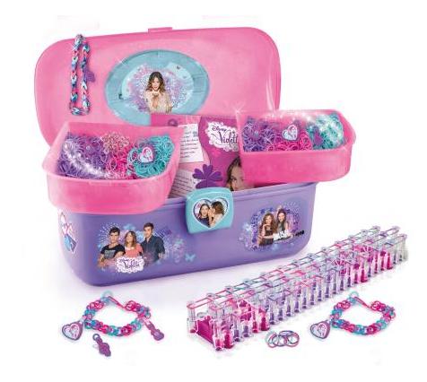 1 jouet Violetta acheté : le 2ème à - 50% - Ex : Vanity Bracelets Loomys