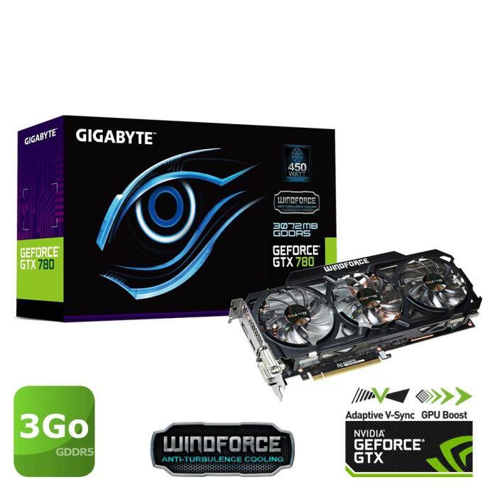 Carte graphique Gigabyte GTX780 3Go GDDR5 WF3
