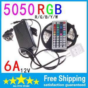 Ruban flexible 300 LED 5050 RGB Light 5M