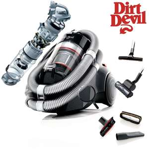 Aspirateur sans sac Dirt Devil M5038 Infinity VS8 Loop 1600W 30 kPa 32 L/s 78 dB