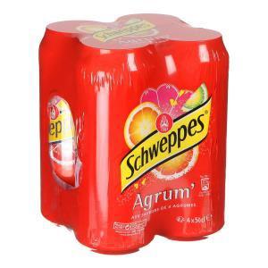 24 canettes 50CL de Schweppes Agrumes