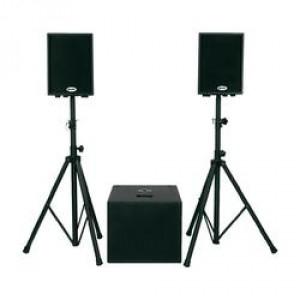 Pack enceinte Gemini DJ XTR 500 pour sonorisation ou DJ