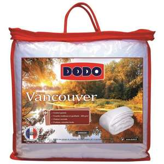 Couette chaude 400g Dodo Vancouver 220x240cm