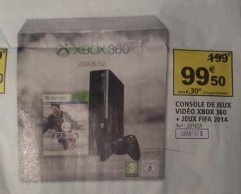 Console Xbox 360 250 Go + Fifa 2014