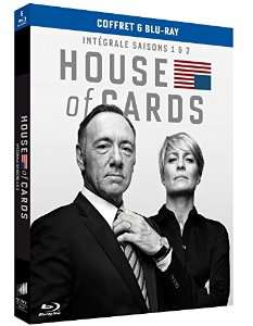 Coffret Blu-ray House of Cards - Saisons 1 et 2