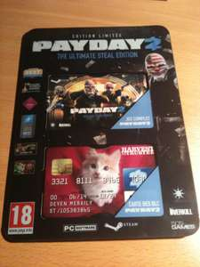 Payday 2 : The Ultimate Steal Edition (Jeu + DLC Transport blindé) sur PC