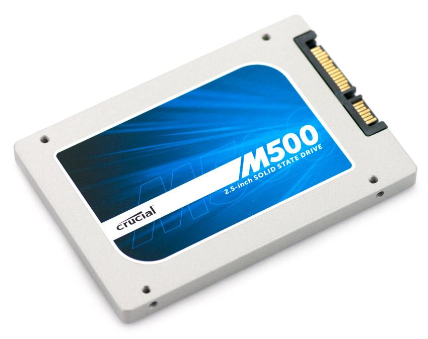 SSD Crucial M500 et M550 en promotion - Ex : M500 120Go