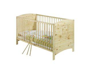Lit bébé Schardt 70x140 bois massif