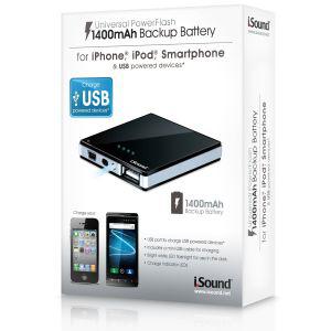 Batterie de secours Universelle 1400 mAh USB