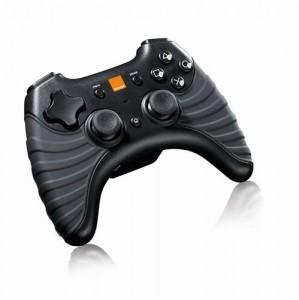 Manette sans fil Orange (by Thrustmaster) pour PS3 et PC