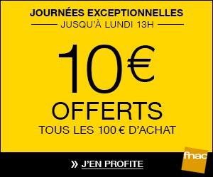 [Adhérents] 10€ offerts sur votre compte fidélité par tranche de 100€ d'achats