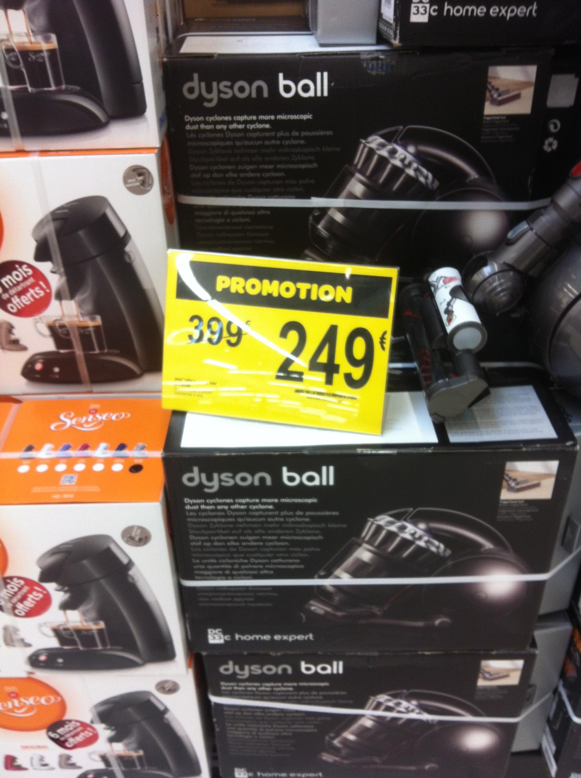 Aspirateur sans sac Dyson Ball