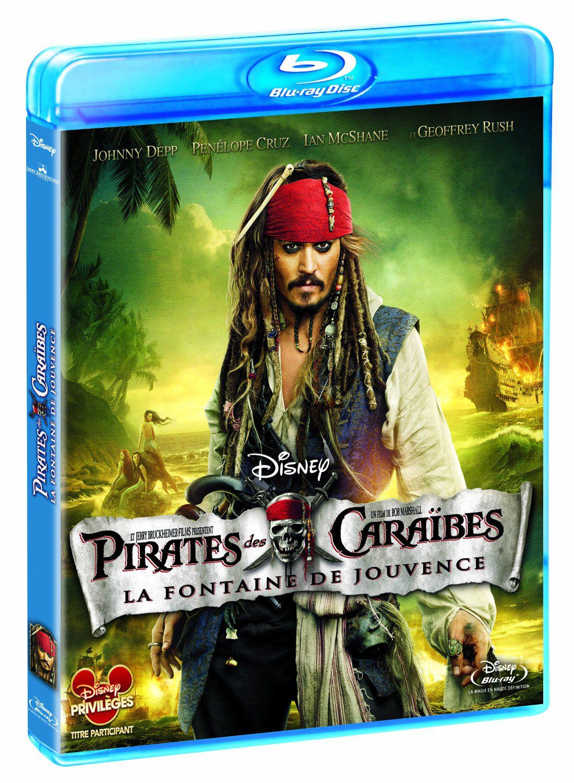 Blu-ray Pirates des Caraïbes 4 : la fontaine de jouvence