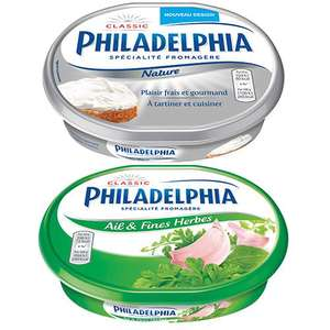 Lot de 2 Fromages Philadelphia (Avec coupon réduction)