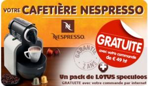 Cafetière Nespresso Magimix offerte dès
