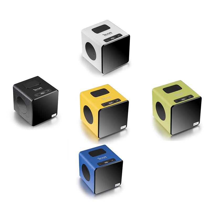 Enceinte sans fil OXA en bois avec Bluetooth, NFC, USD, MicroSD, MiniJack et Radio plusieurs coloris