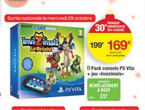 Pack PS Vita + Invizimals : La révolte