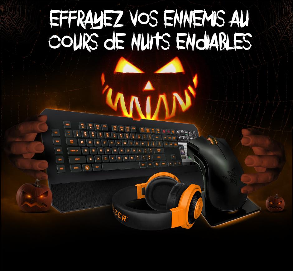 20% de réduction sur Razer Mamba, DeathStalker Ultimate ou Kraken Pro Neon - Orange