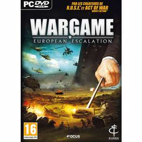 Wargame European Escalation gratuit sur PC (avec 2€ crédités sur la carte fidélité)