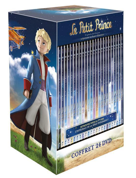 Coffret 24 DVD - Intégrale Le Petit Prince