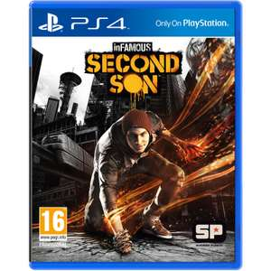 Infamous Second Son sur PS4 (Occasion)
