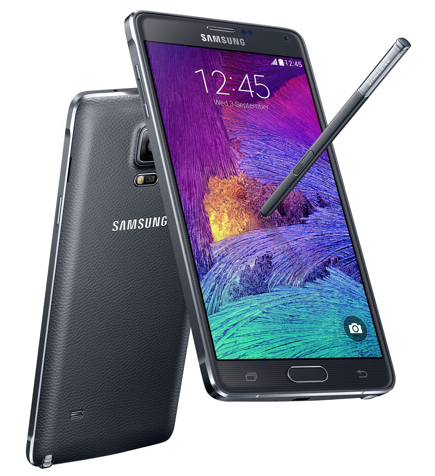 Smartphone Samsung Galaxy Note 4 32Go - Noir ou blanc (avec ODR de 70€) + 140€ en bon d'achat